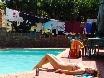 Erst große Wäsche dann großes Sonnebaden.