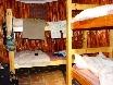 Dorm-Hütte für sechs.