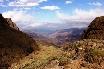 Blick von 2.000 Meter Höhe vom legendären Sanipass