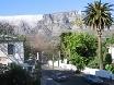 Table Mountain immer als Orientierung.